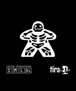 camiseta-juegos-mesa-meeple-esqueleto2