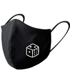mascarilla-negra-juegos-mesa-dado